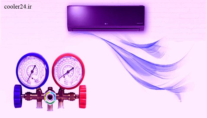 آموزش و نصب کولر گازی به صورت تصویری